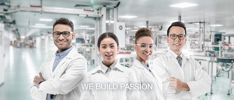 WE BUILD PASSION